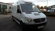 mercedes sprinter 313 CDI MWB High Roof Chiller Van - No no plate