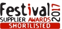 SHB shortlisted at Festival Supplier Awards